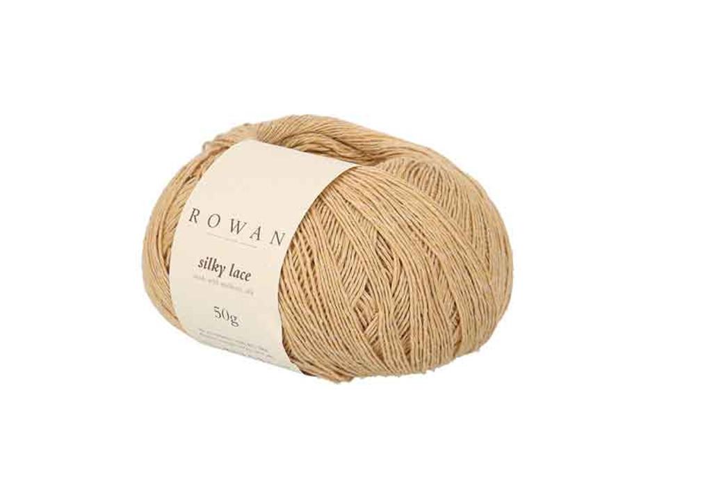 Rowan Silky Lace Weight Knitting Yarn, 50g Donuts | 0005 Morganite