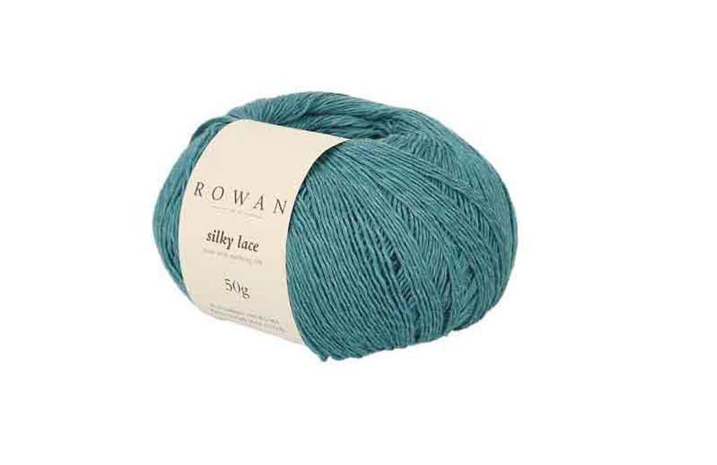 Rowan Silky Lace Weight Knitting Yarn, 50g Donuts | 0007 Amazonite