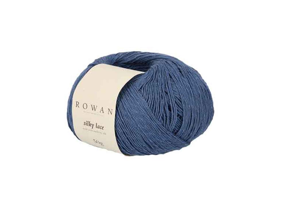 Rowan Silky Lace Weight Knitting Yarn, 50g Donuts | 0008 Topaz