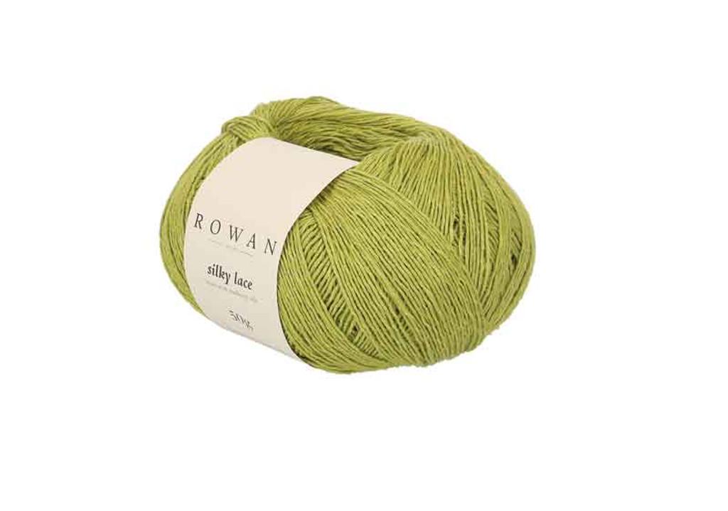 Rowan Silky Lace Weight Knitting Yarn, 50g Donuts | 0009 Jade