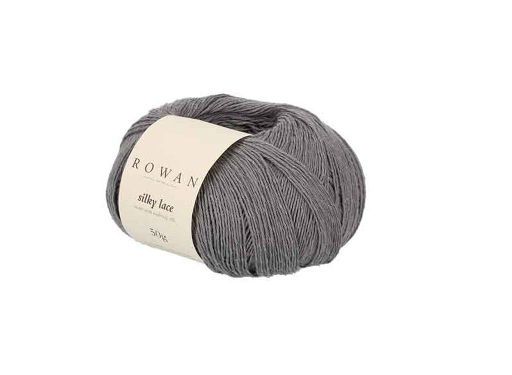 Rowan Silky Lace Weight Knitting Yarn, 50g Donuts | 0010 Morion