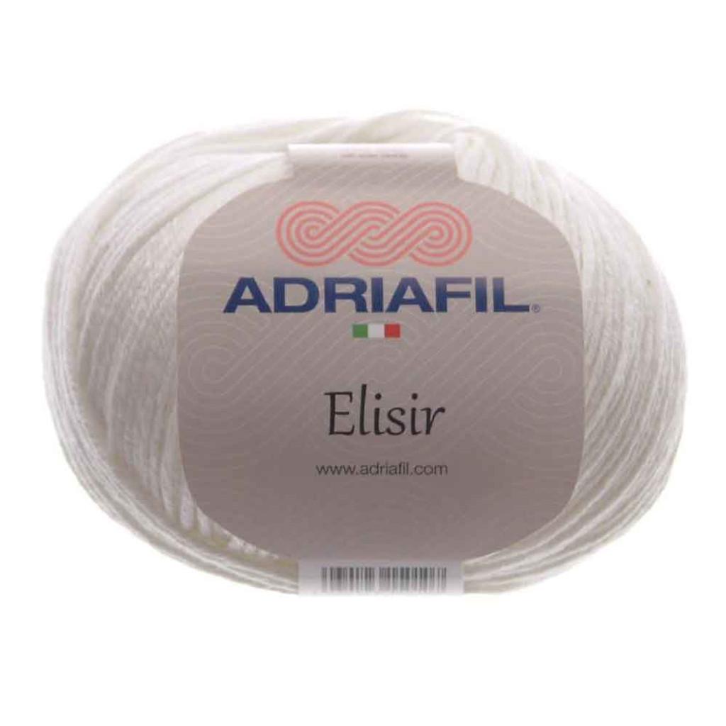 Adriafil Elisir DK Yarn | 50g Donuts | 30 White