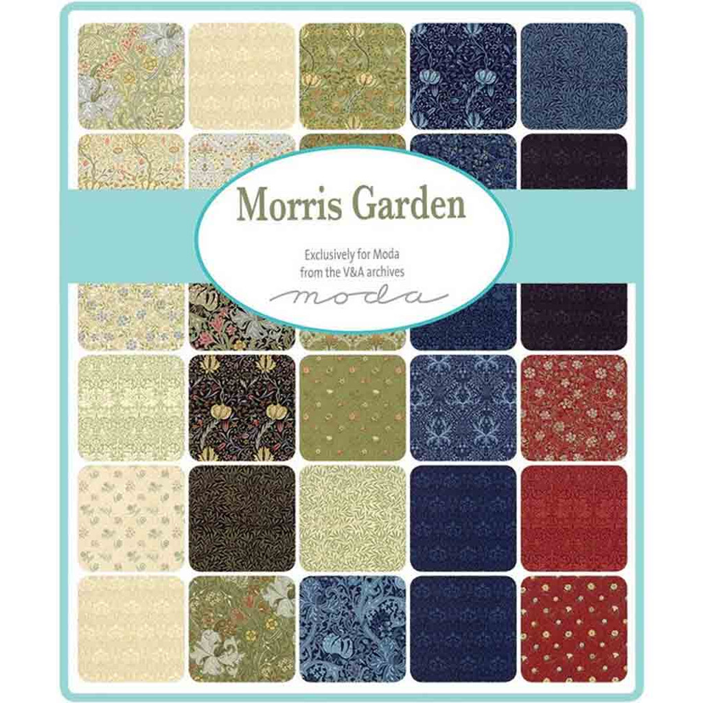 Morris Garden | V and A | Moda Fabrics | Swatches