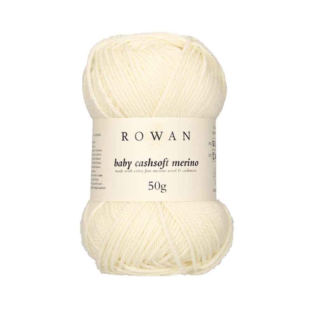 Rowan Baby Cashsoft Merino 4 Ply Yarn   102 Cream
