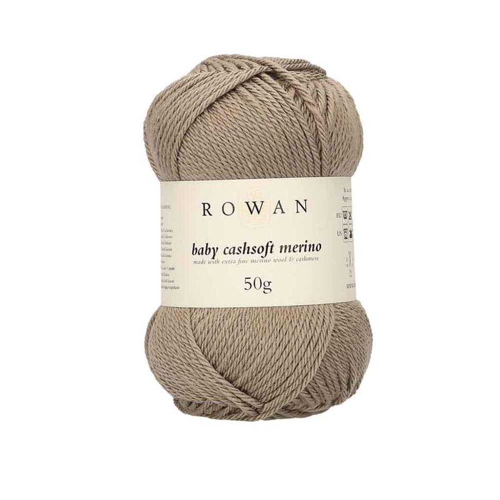 Rowan Baby Cashsoft Merino 4 Ply Yarn   104 Taupe