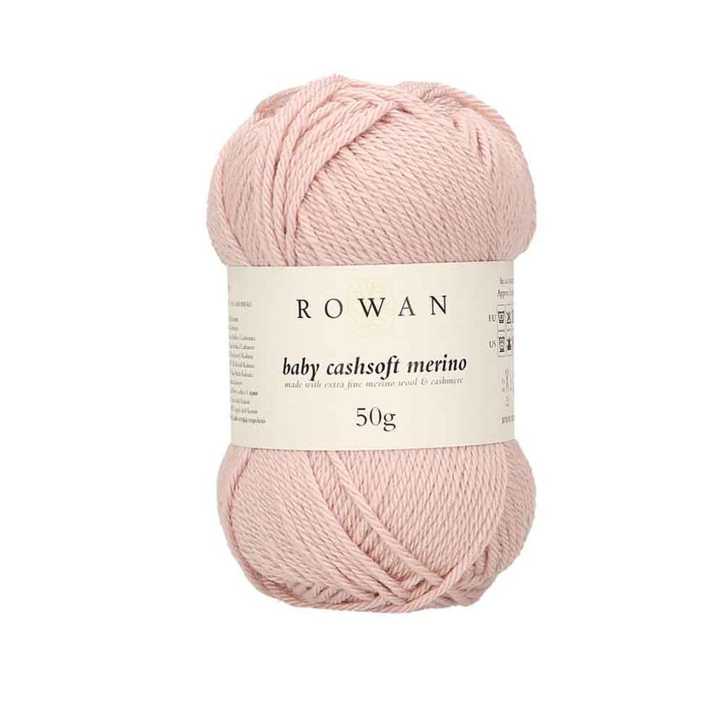 Rowan Baby Cashsoft Merino 4 Ply Yarn   105 Vintage Pink