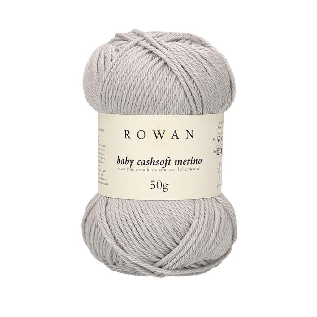 Rowan Baby Cashsoft Merino 4 Ply Yarn   106 Silver
