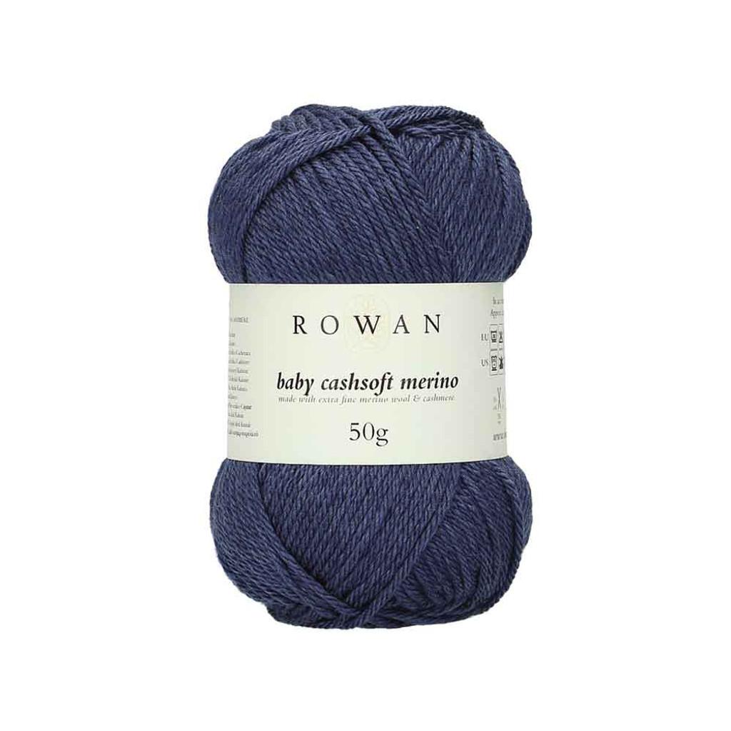 Rowan Baby Cashsoft Merino 4 Ply Yarn   112 Denim