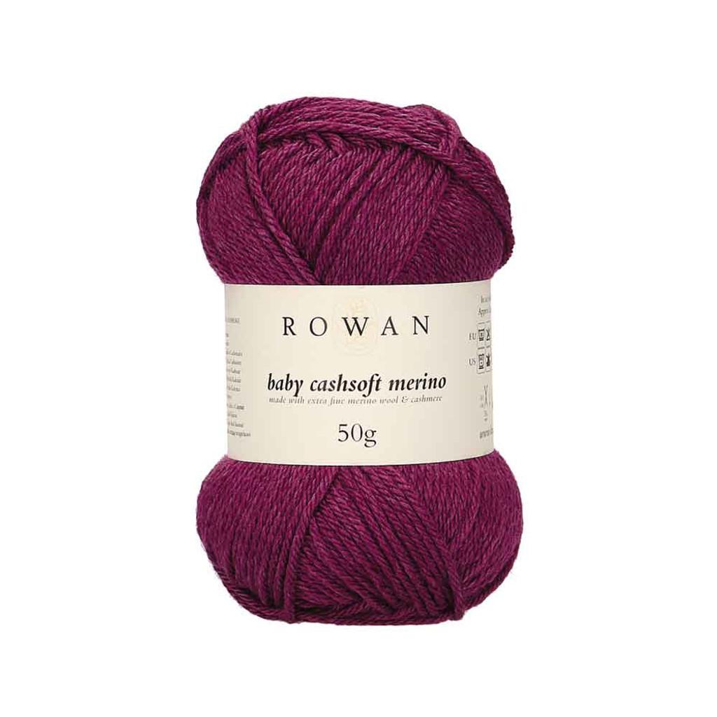 Rowan Baby Cashsoft Merino 4 Ply Yarn   113 Purple