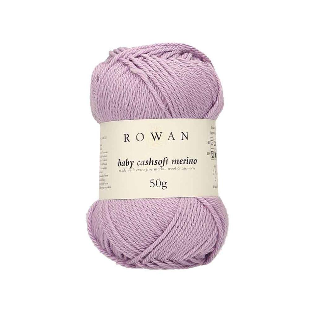 Rowan Baby Cashsoft Merino 4 Ply Yarn   114 Lavender