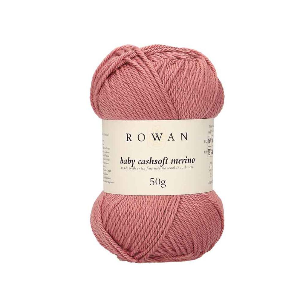 Rowan Baby Cashsoft Merino 4 Ply Yarn   115 Rosy