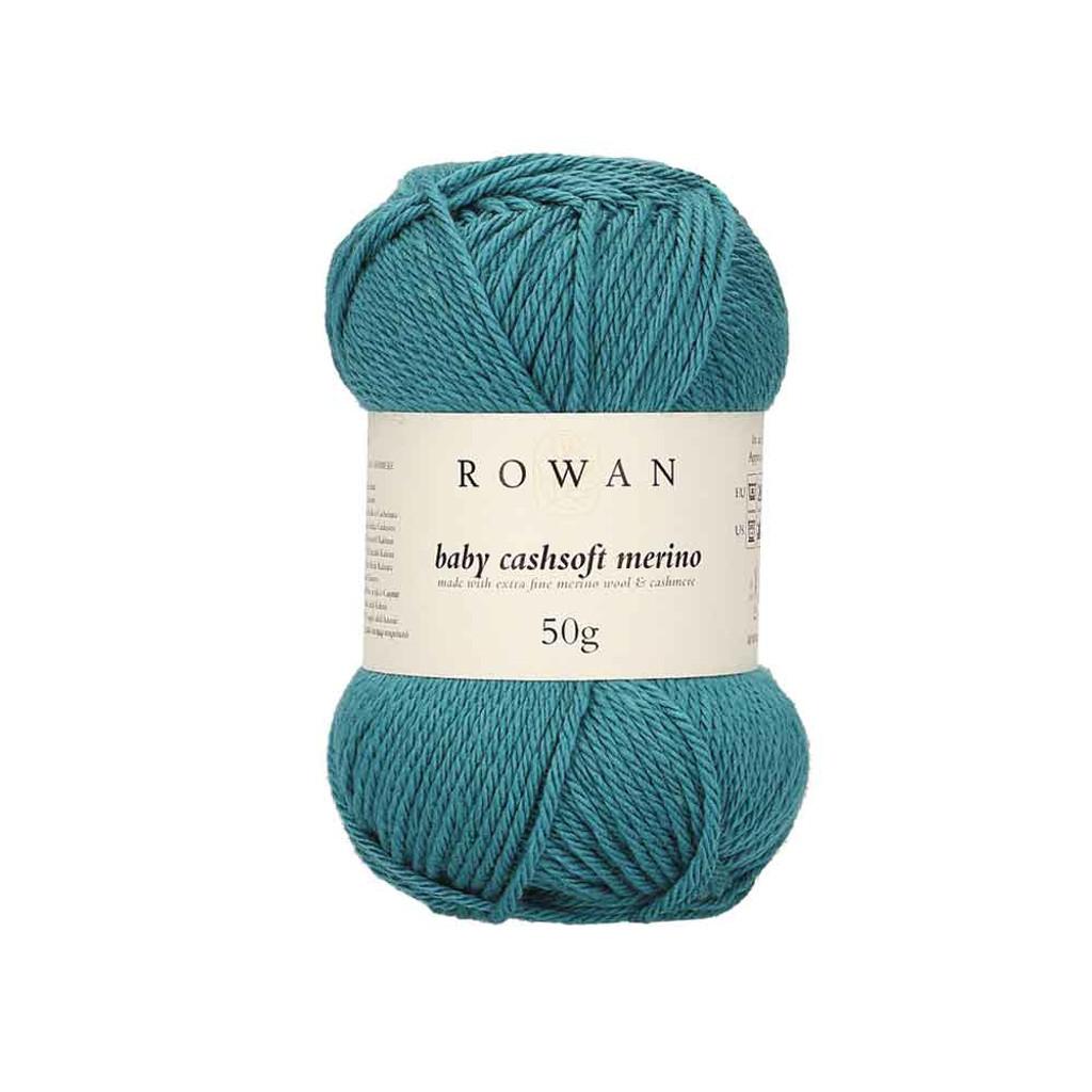 Rowan Baby Cashsoft Merino 4 Ply Yarn   118 Turquoise