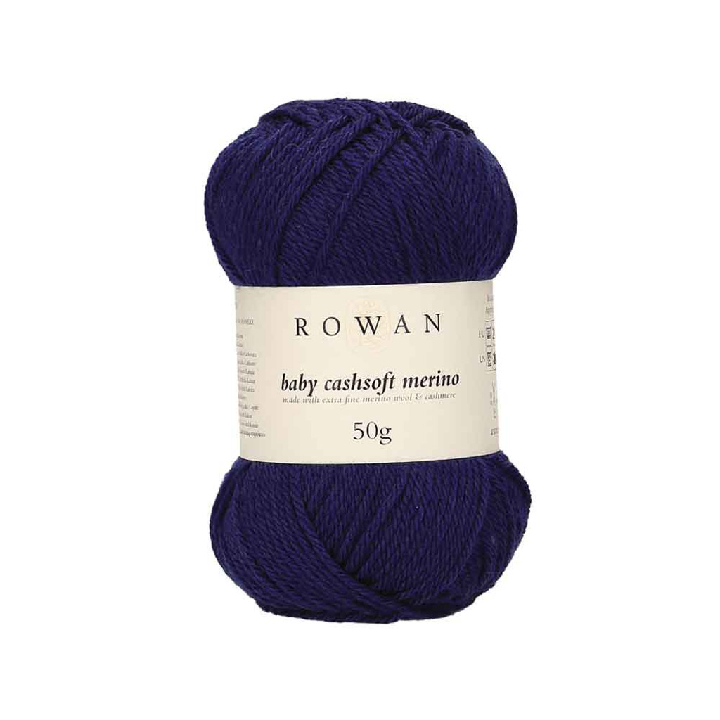Rowan Baby Cashsoft Merino 4 Ply Yarn   119 Royal Baby