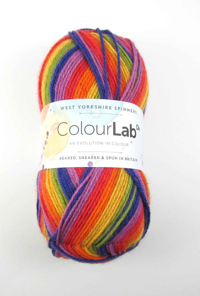 WYS ColourLab DK Knitting Yarn, 100g balls - 891 Technicolour
