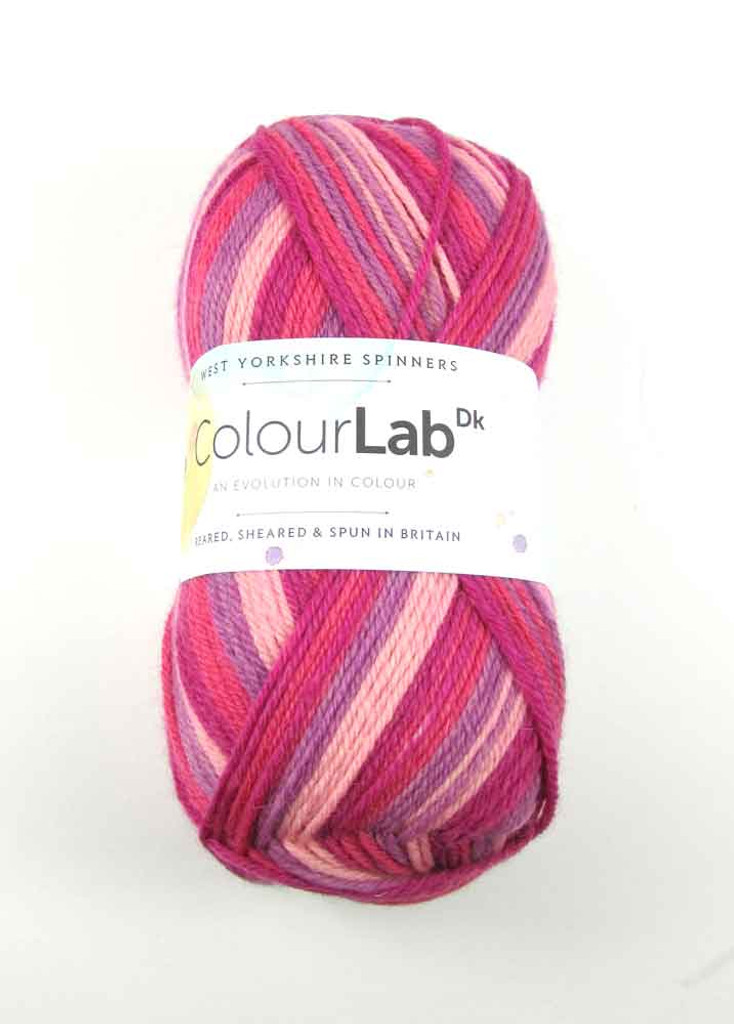 WYS ColourLab Dk | 100g balls | Various Shades - 893 Summer Pinks