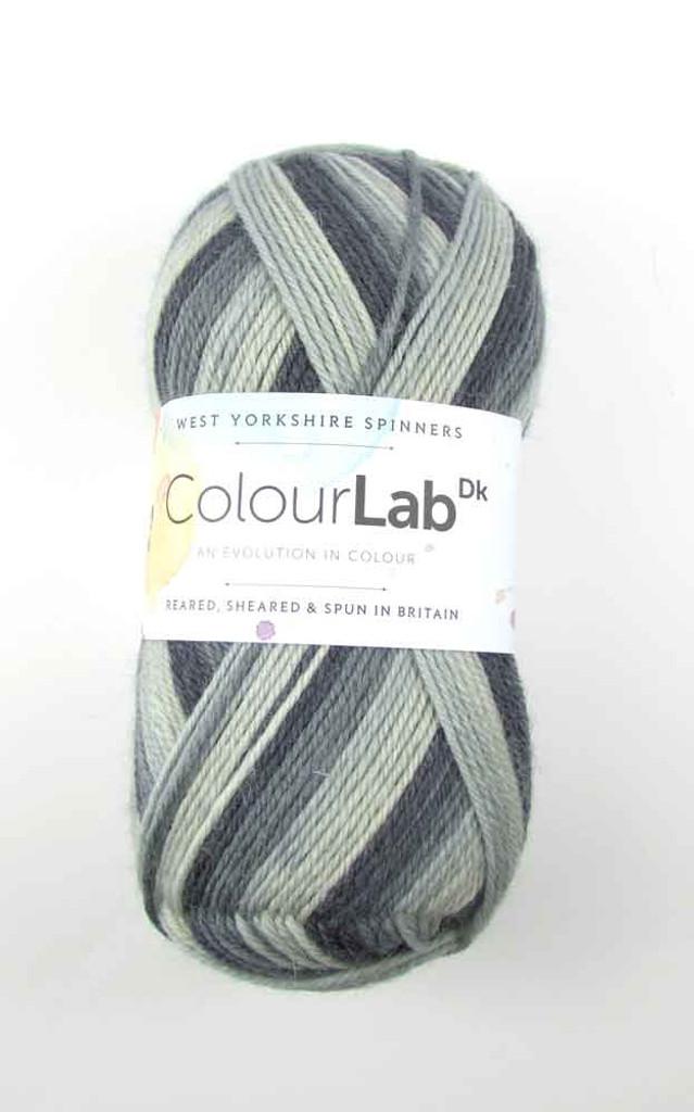 WYS ColourLab Dk | 100g balls | Various Shades - 895 Moonlight Grey