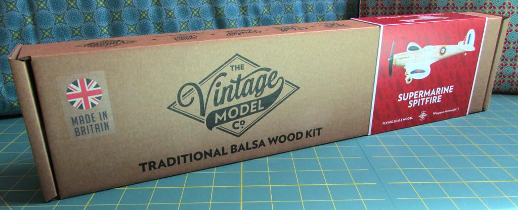The Vintage Model Co. | Flying Model Kit | Supermarine Spitfire Mk. VB | Box
