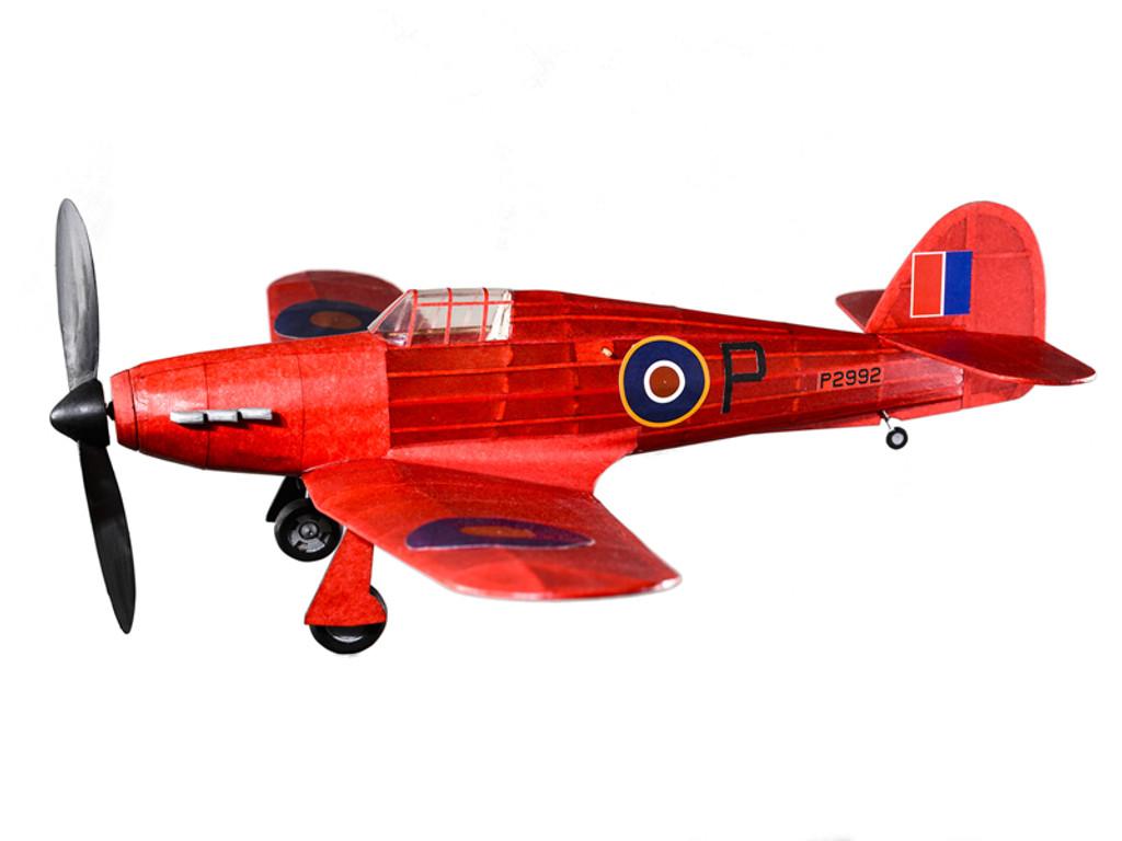 The Vintage Model Co. | Flying Model Kit | Hawker Hurricane | Final Result