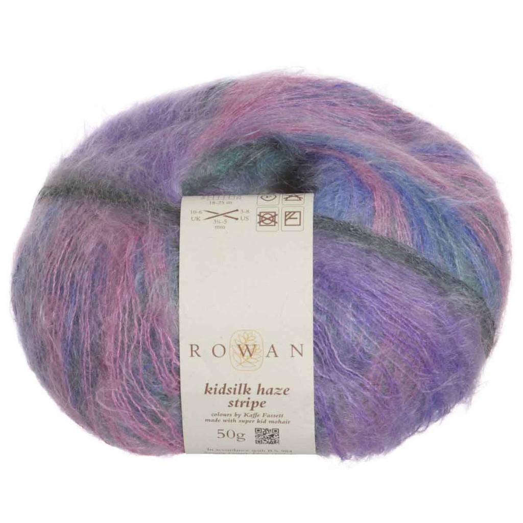 Rowan Kidsilk Haze Strip Knitting Yarn | 203 Frost
