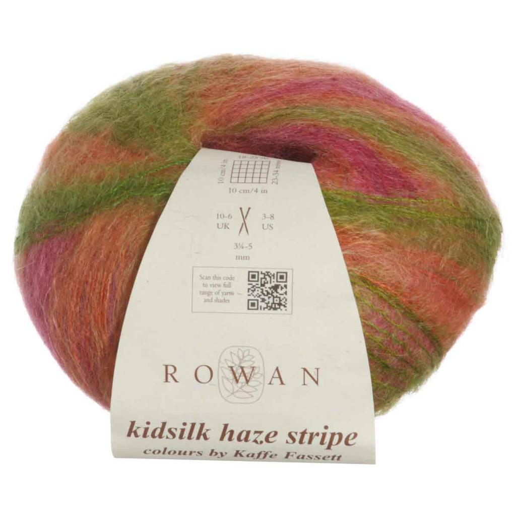 Rowan Kidsilk Haze Strip Knitting Yarn | 205 Circus
