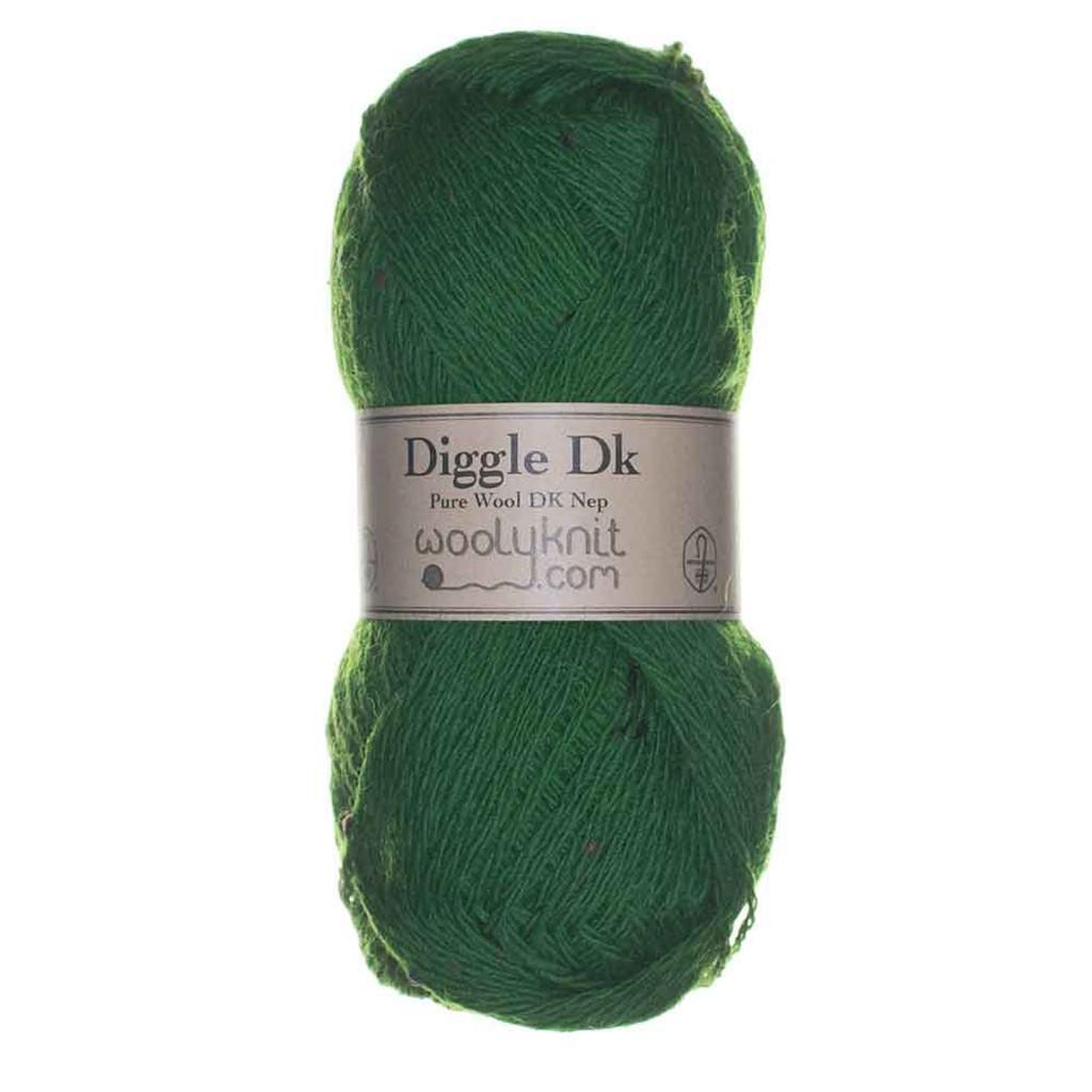 Woolyknit Diggle DK   Emerald