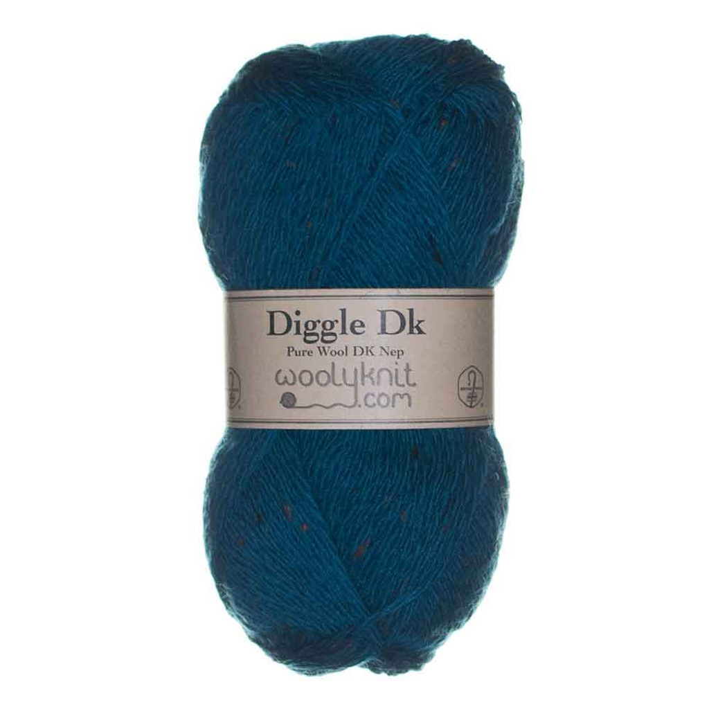 Woolyknit Diggle DK   Teal