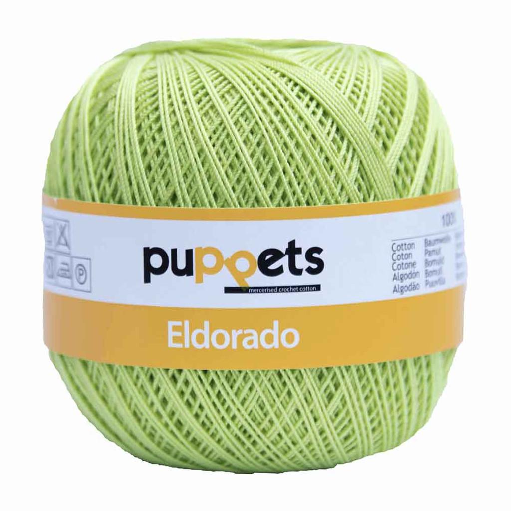 Anchor Puppets Eldorado 50g Crochet Yarn 10 Tkt  | Lime