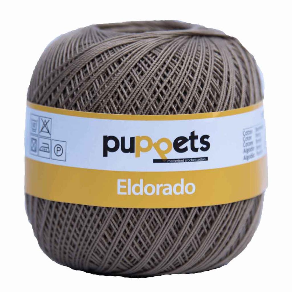 Anchor Puppets Eldorado 50g Crochet Yarn 10 Tkt  | Taupe
