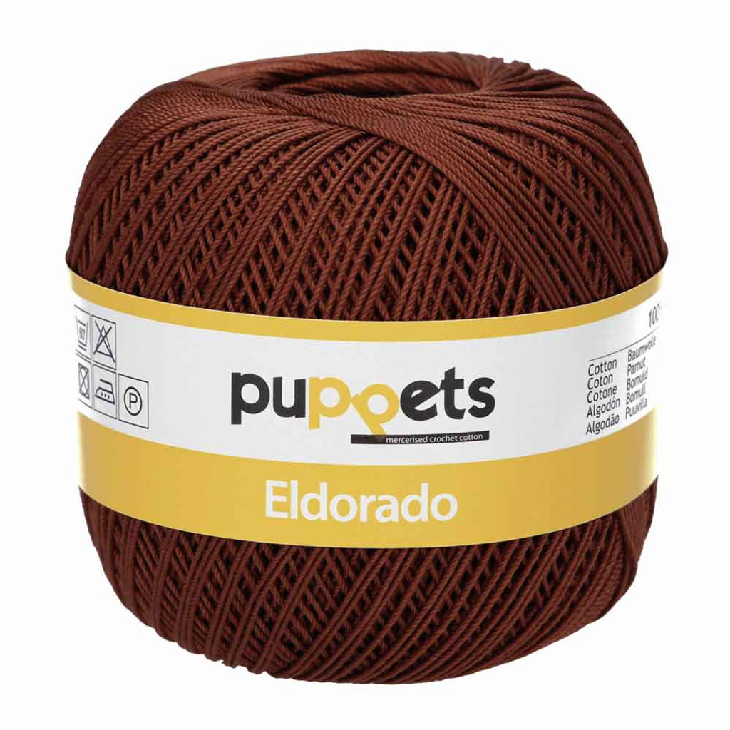 Anchor Puppets Eldorado 50g Crochet Yarn 10 Tkt  | Earth
