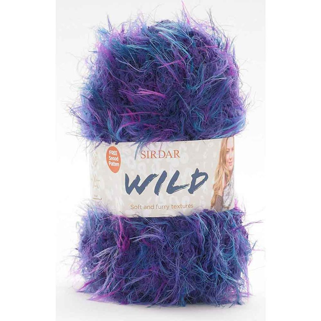 Sirdar Wild Chunky Knitting Yarn, 50g Balls | Various Shades
