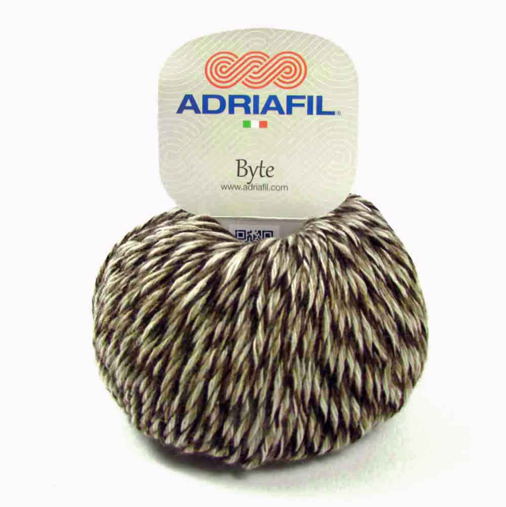 Adriafil Byte Dk yarn   80 Earthy