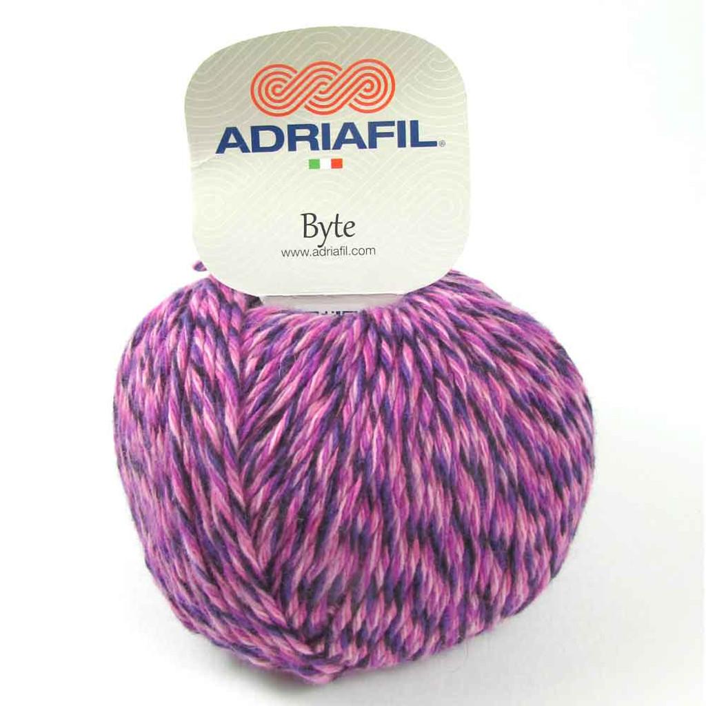 Adriafil Byte Dk yarn   83 Asters