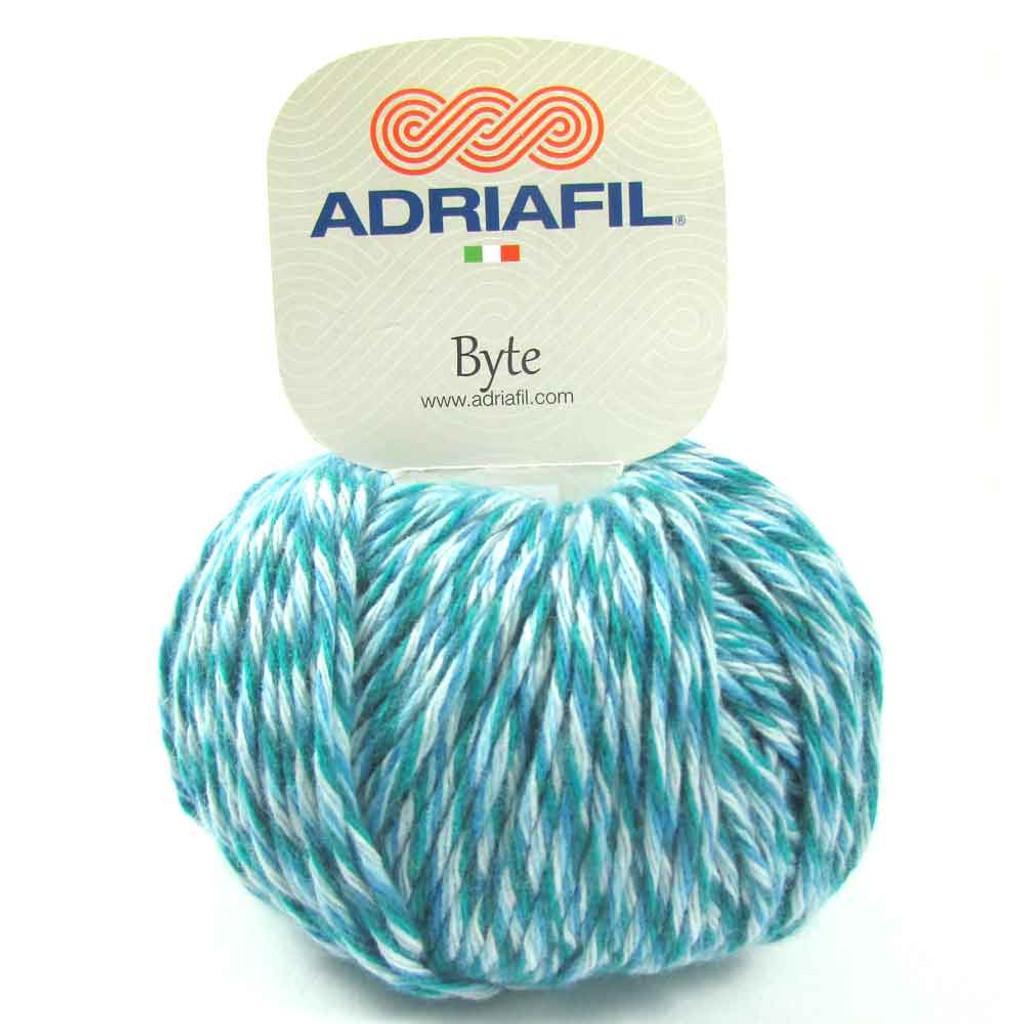 Adriafil Byte Dk yarn   82 Aquas