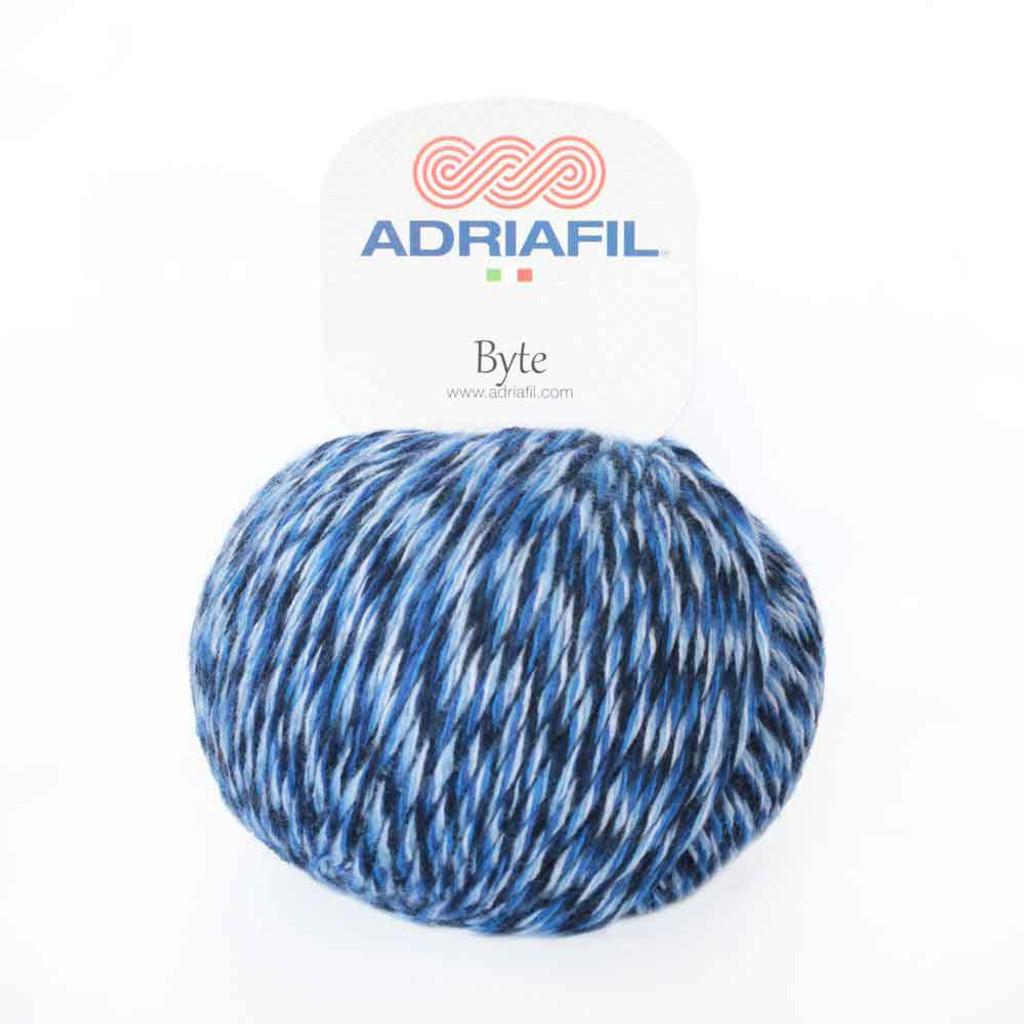 Adriafil Byte Dk yarn   84 Blues