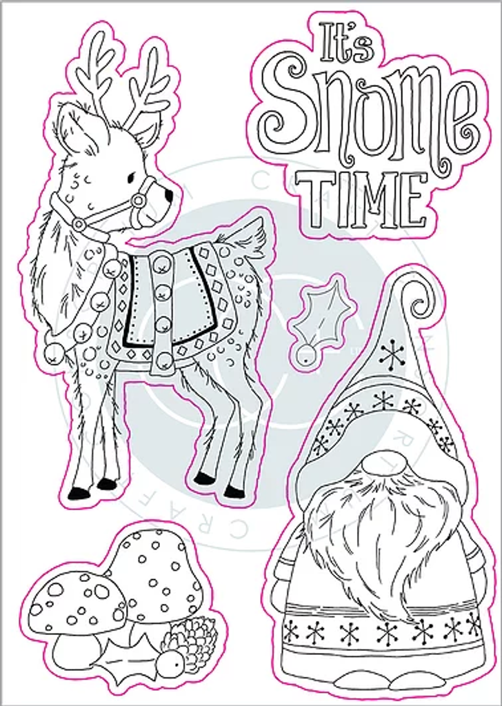 Craft Consortium | It's Snome Time | It's Snome Time Stamp Set
