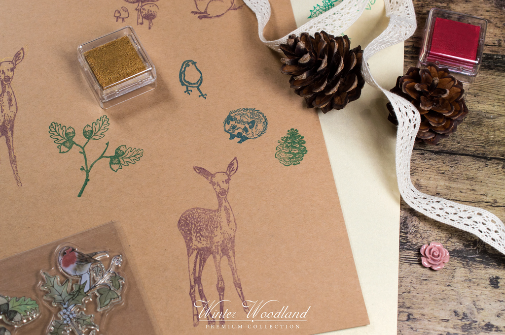 Craft Consortium | Winter Woodland | Winter Woodland Stamp Set