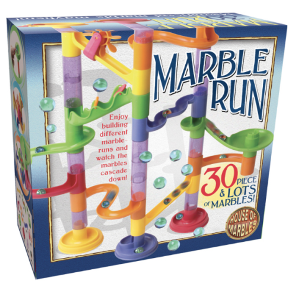 30 Piece Marble Run Set | House of Marbles