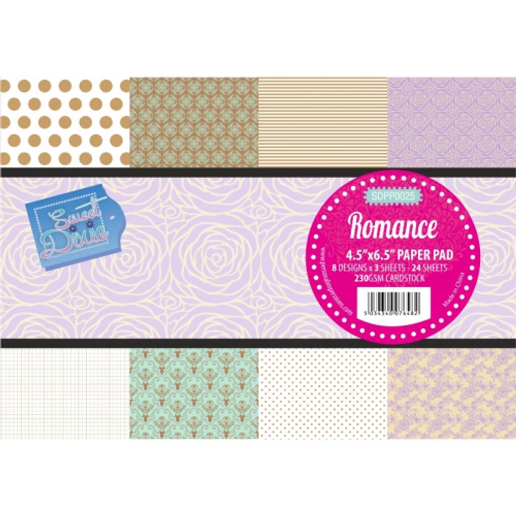 "Sweet Dixie | Paper Pad | 4.5"" x 6.5"" | Romance"