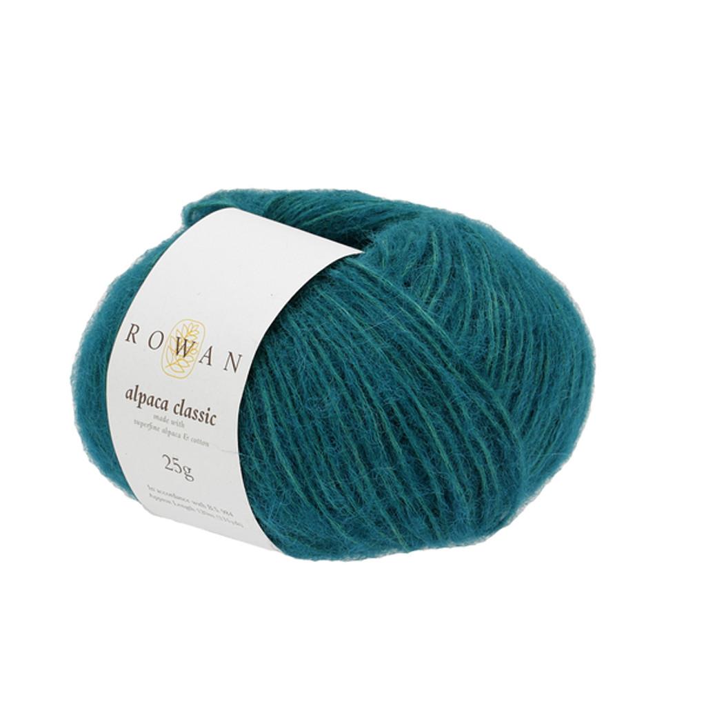 Rowan Alpaca Classic Dk Yarn, 25g Balls | 108 Verdigris