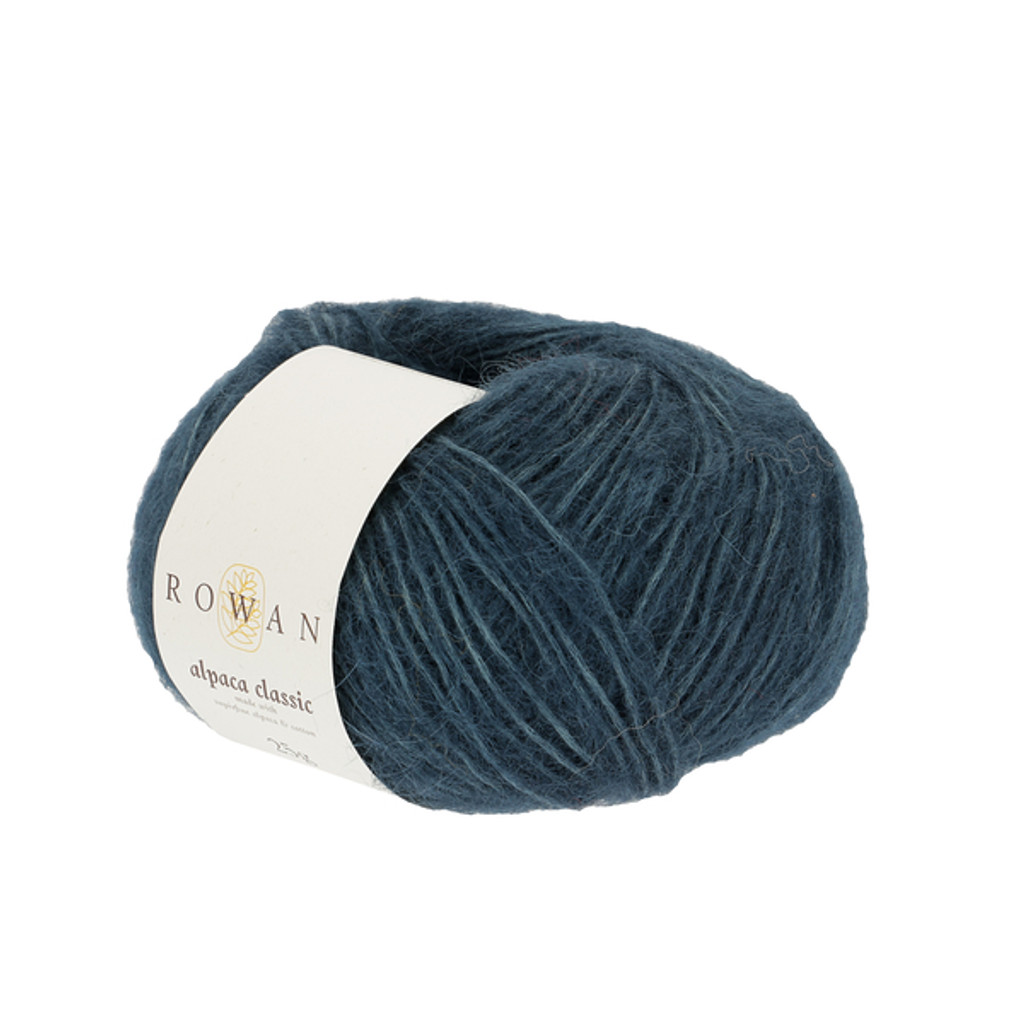 Rowan Alpaca Classic Dk Yarn, 25g Balls | 109 Deep Teal