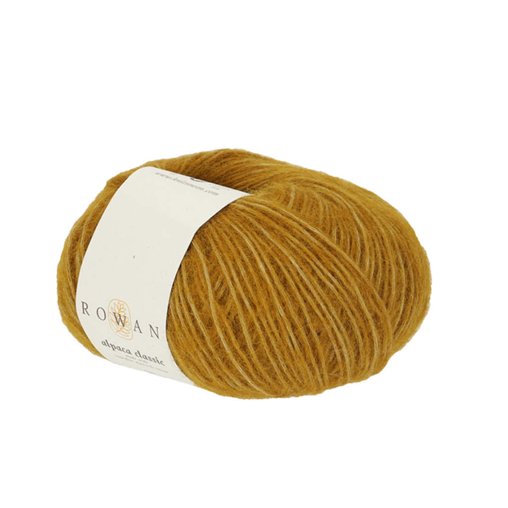 Rowan Alpaca Classic Dk Yarn, 25g Balls | 114 Golden Girl