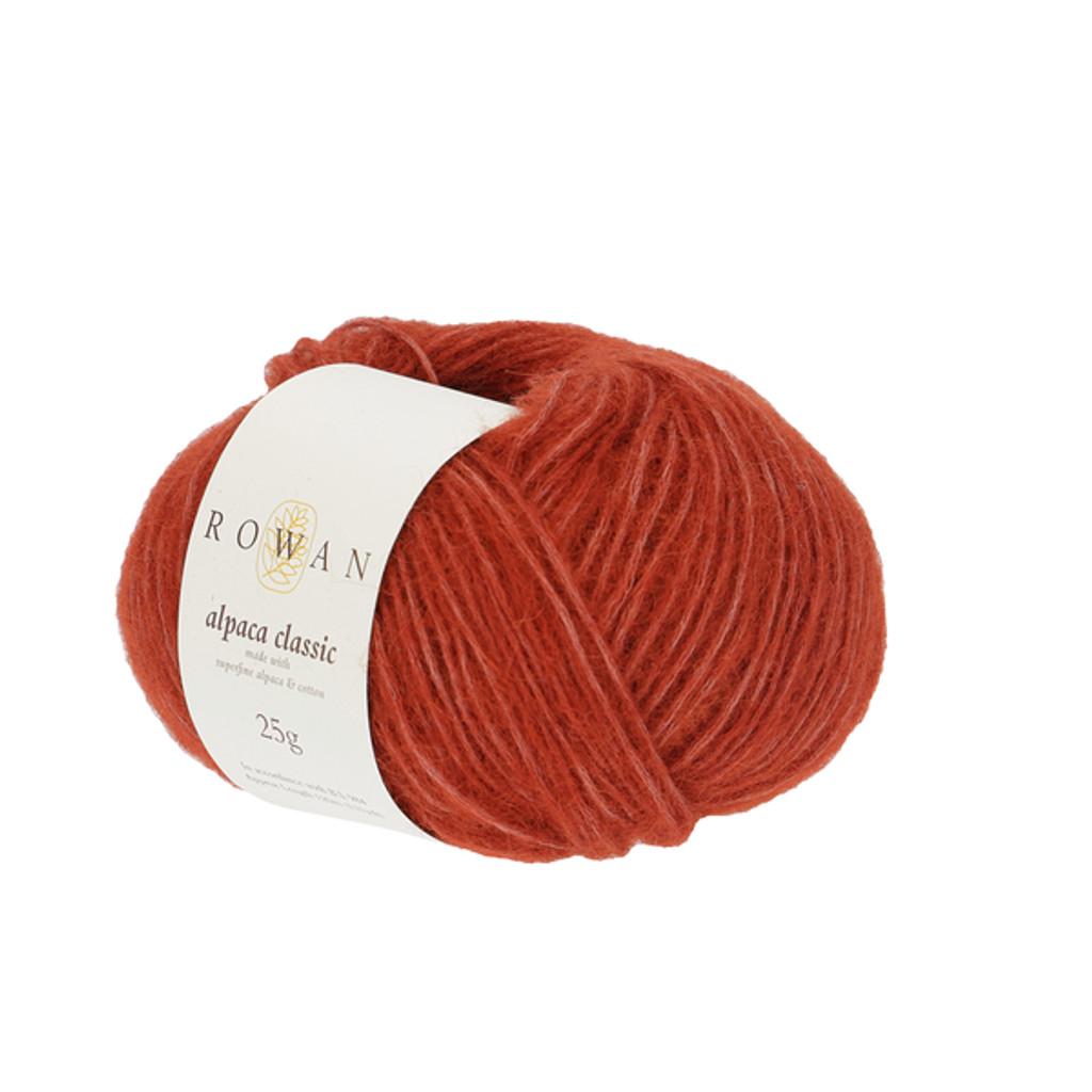 Rowan Alpaca Classic Dk Yarn, 25g Balls | 119 Copper Clay
