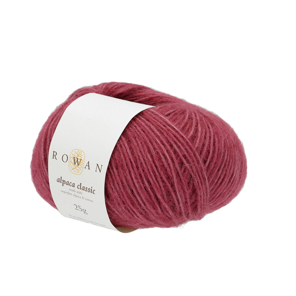 Rowan Alpaca Classic Dk Yarn, 25g Balls | 125 Berry Sorbet