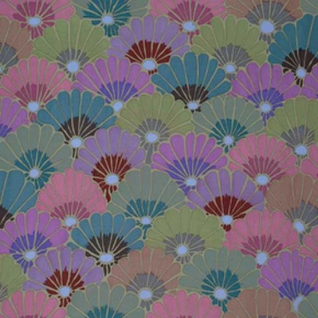 Thousand Flowers - Smoke | Kaffe Fassett | Rowan Fabrics | Individual Fabrics | Remnant 1.4m