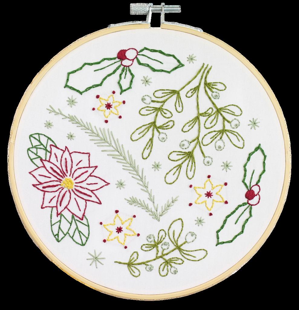 Hawthorn Handmade | Contemporary Embroidery Kit | Winter Walk