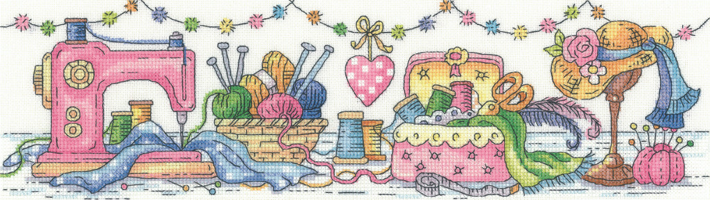 Heritage Crafts | Cross Stitch Kit | The Karen Carter Collection | The Sewing Room