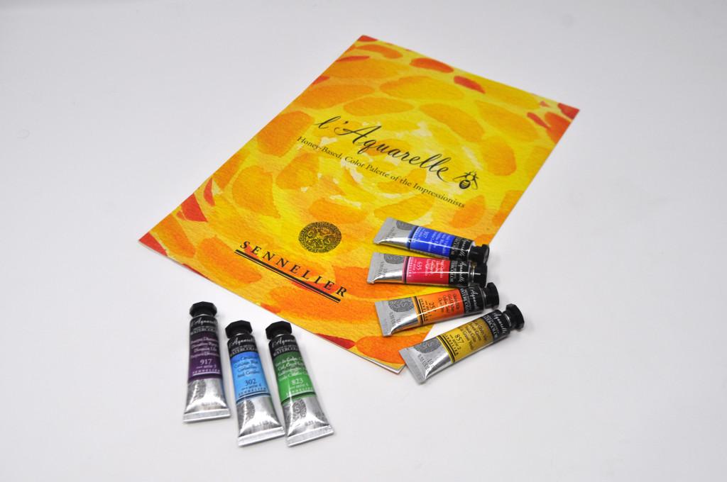 Sennelier l'Aquarelle Watercolour 10ml Tubes | Various Colours - Main 2