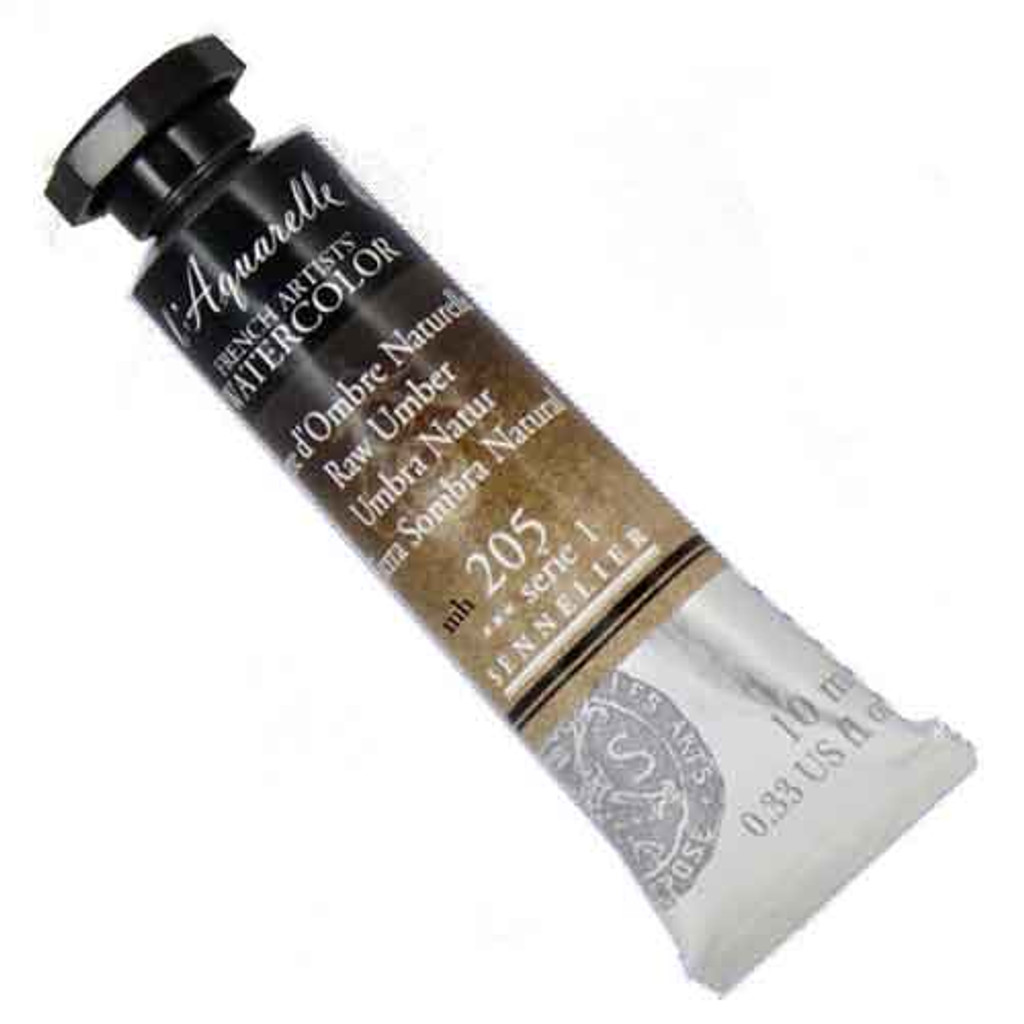 Sennelier l'Aquarelle Watercolour 10ml Tubes | Raw Umber 205 S1