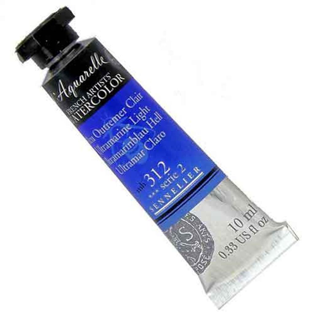 Sennelier l'Aquarelle Watercolour 10ml Tubes | Ultramarine Light 312 S2