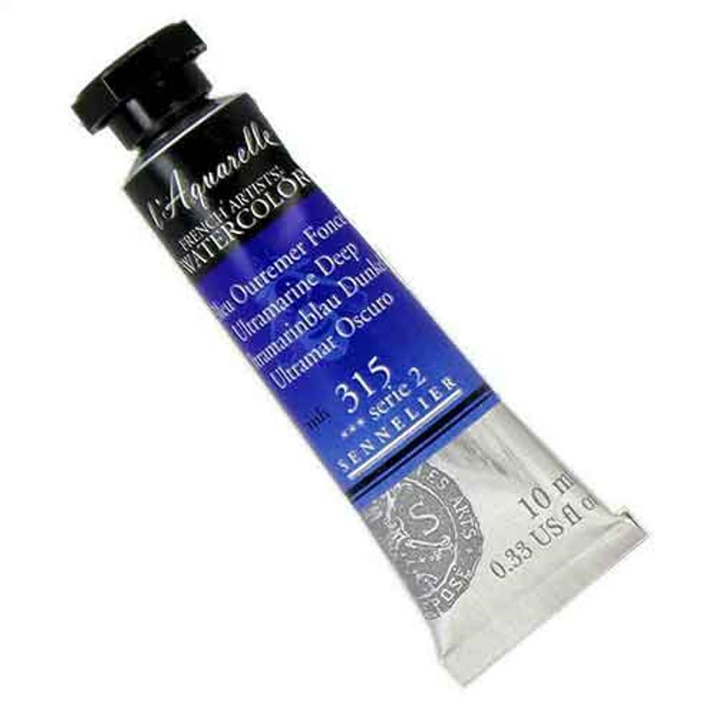 Sennelier l'Aquarelle Watercolour 10ml Tubes | Ultramarine Deep 315 S2
